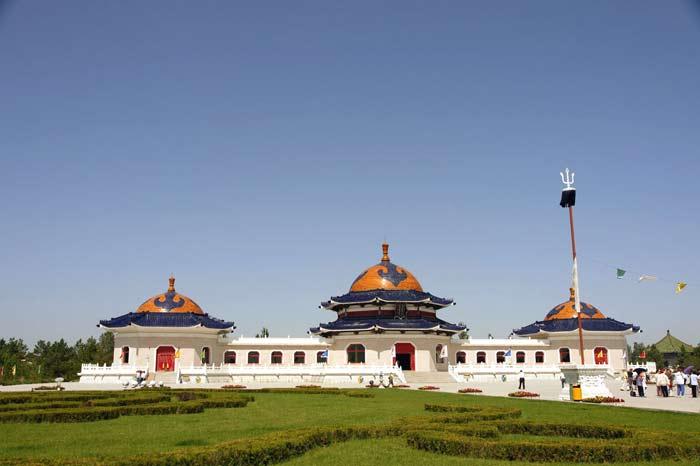 Mausoleum-Genghis-Khan