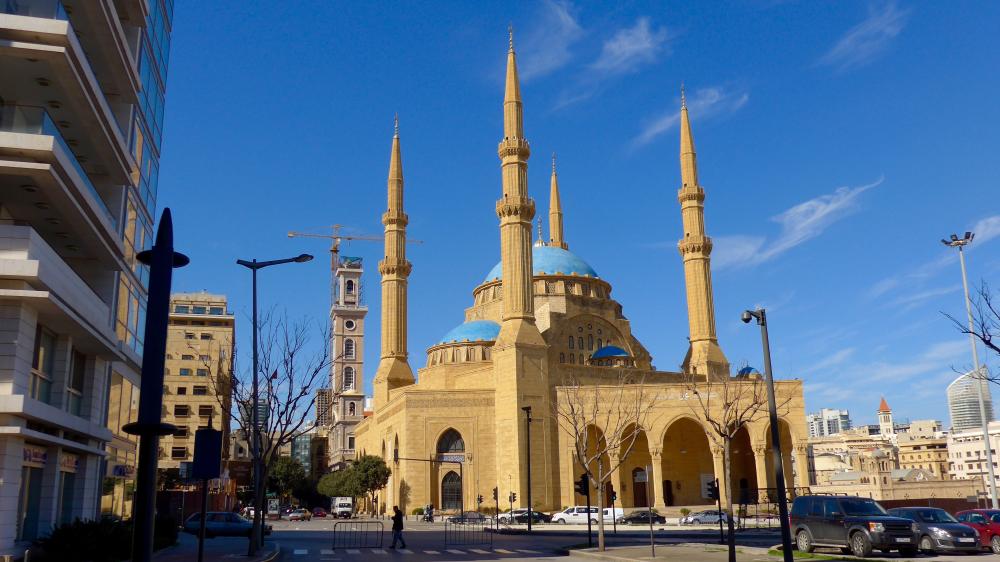 Beirut Moscheea Albastra