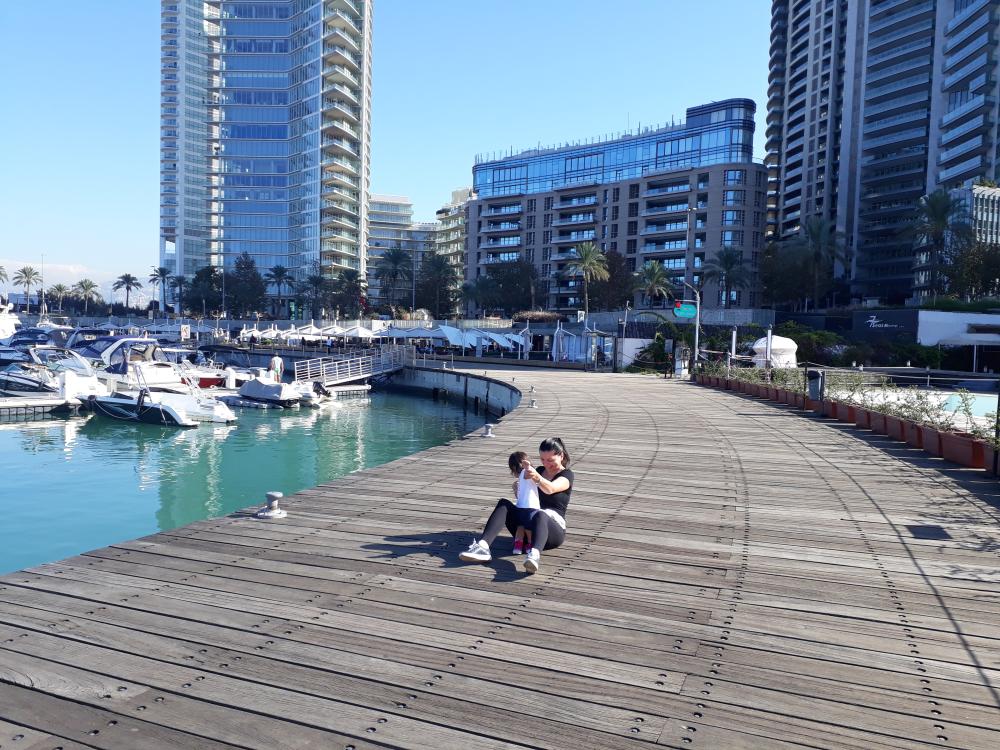 Beirut decembrie Zaytuna Bay