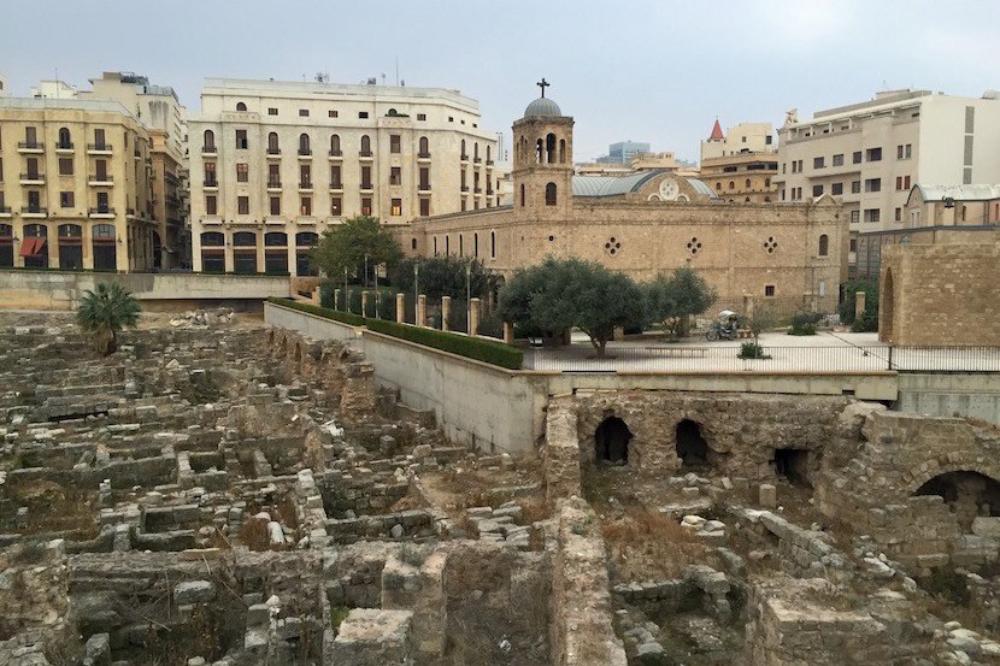Beirut ruine romane