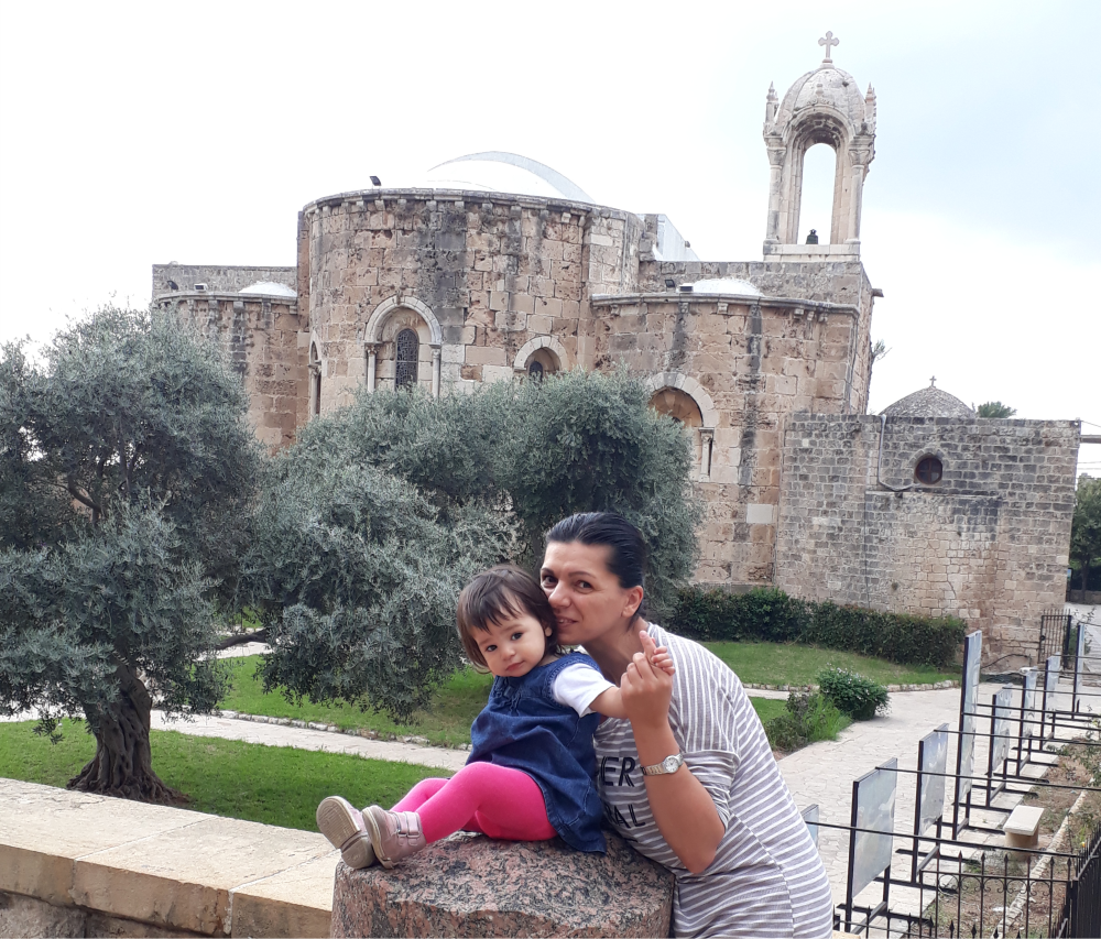 Byblos biserica bizantina 2