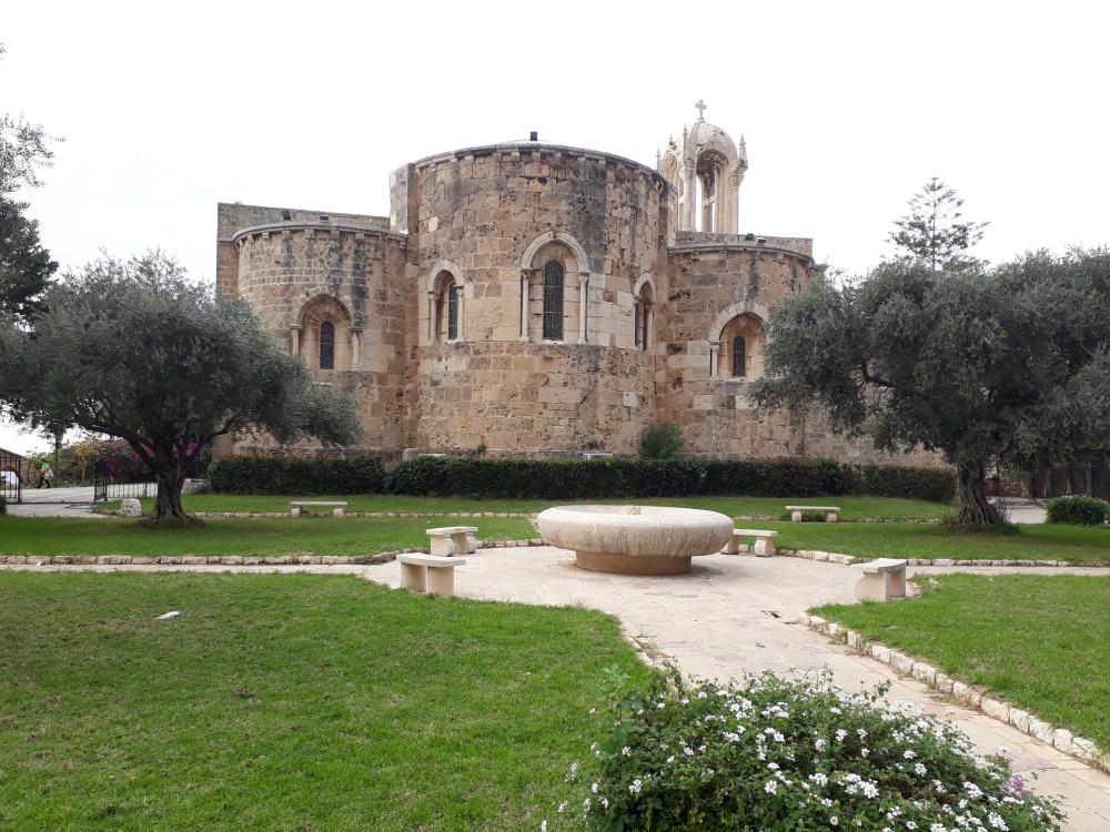 Byblos biserica bizantina
