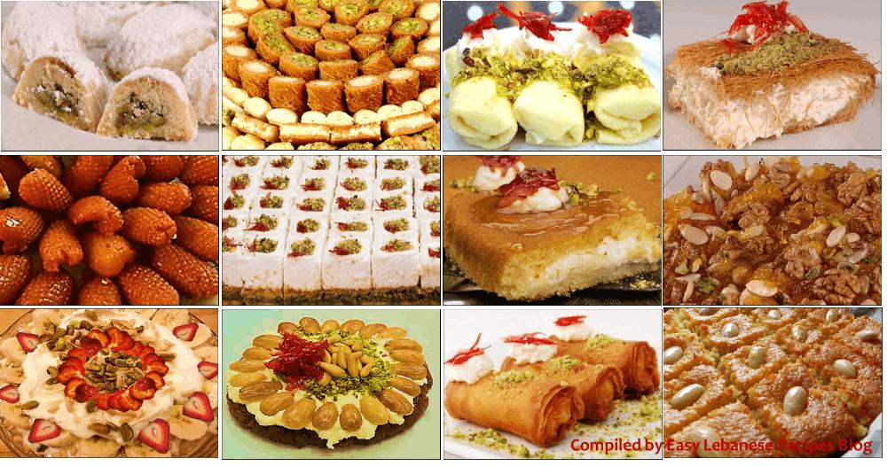 dulciuri libaneze