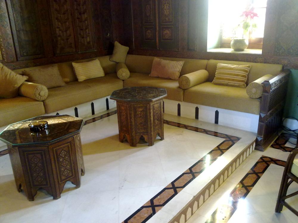 interior traditional arab