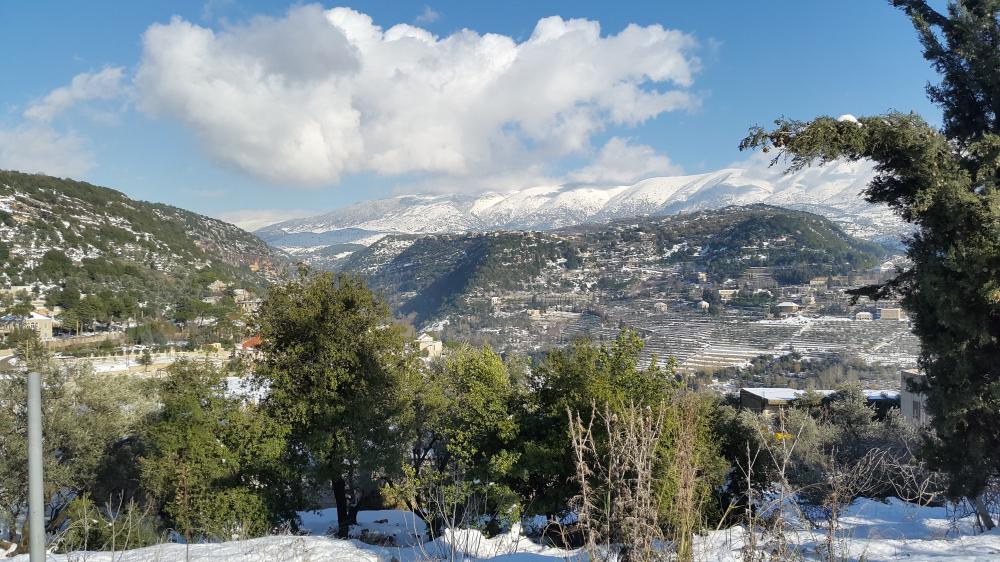Liban turism munte cu zapada 3