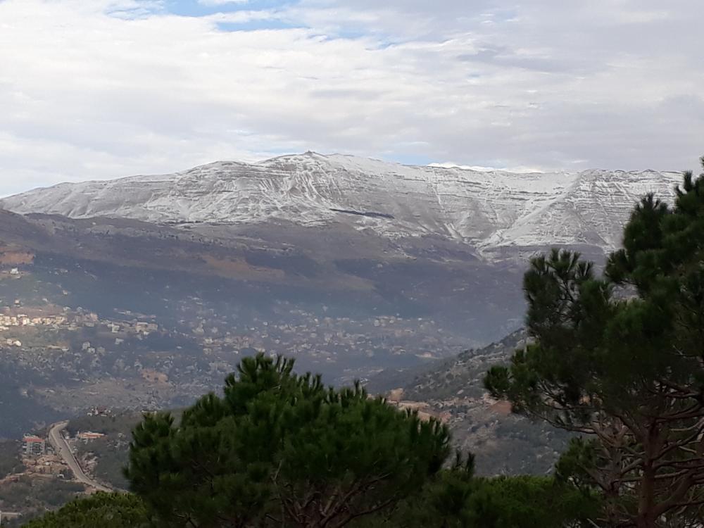 Liban turism munte cu zapada 4