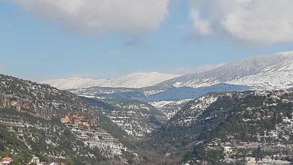 Liban turism munte cu zapada