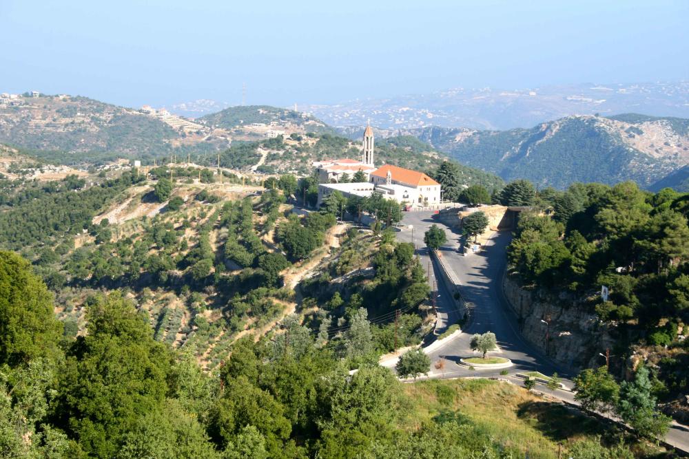 St Charbel Monastery Lebanon