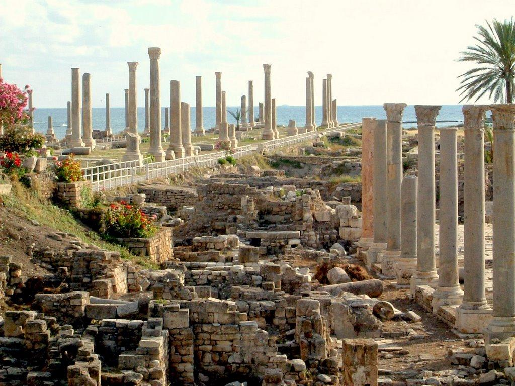 Tyre- ruine romane