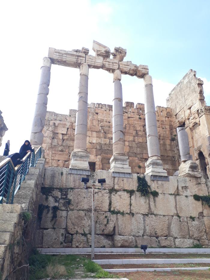Baalbeck ruinele rezista