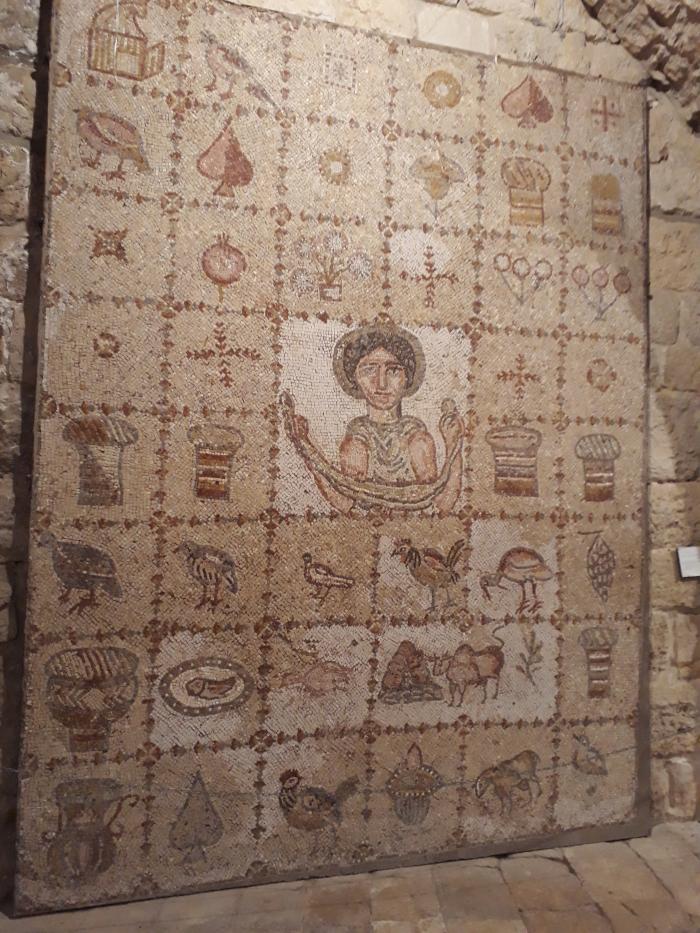 mozaicuri bizantine superbe la Beit Eddine2