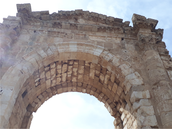 superba constructie romana sfideaza timpul Tyre